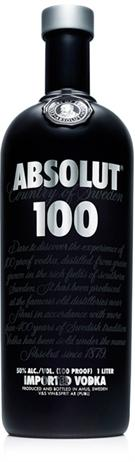 Absolut Vodka 100@